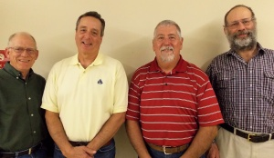Pictured from L to R: John Dilliner, Matt Stanton, Jeff Watson, Curt Cannon. Not pictured: Steve Lacine and Bob Thomas.